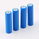 preiswerte Fernrohre, Ferngläser & Teleskope-18650 Batterie Wiederaufladbare Lithium-Ionen Batterie 5000.0 mAh 4pcs Wiederaufladbar für Camping / Wandern / Erkundungen