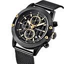 abordables Relojes Deportivo-CADISEN Reloj de Pulsera Emisores Resistente al Agua, Calendario, Cronómetro Negro / Dos año / Noctilucente / Esfera Grande / Dos año