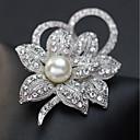 povoljno Moderni broševi-Žene Broševi Klasičan Elegantno Broš Jewelry Pink Za Praznik Festival