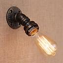 olcso Fali rögzítők-Mini stílus Antik / Vintage Fali lámpák Nappali szoba / Bejárat Fém falikar 110-120 V / 220-240 V 60 W