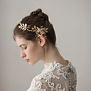cheap Party Headpieces-Alloy Headbands with Imitation Pearl 1 Piece Wedding / Party / Evening Headpiece