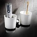preiswerte Zahnbürstenhalter-Zahnbürstenhalter Neues Design / Cool Moderne Metal 1pc Wandmontage