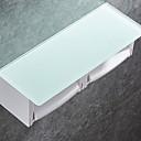 billige Toalettrullholdere-Toalettrullholder Nytt Design / Kul Moderne Plastikker 1pc Vægmonteret