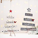cheap Party Supplies-Ornaments / Favor Decoration Party Accessories Christmas / Party / Evening Christmas / Creative Wood
