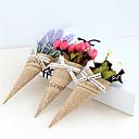 ieftine Flor Artificiales-Flori artificiale 1 ramură Clasic / Single Stilat / Modern Trandafiri / Albastru Deschis Față de masă flori