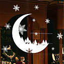 billige Veggklistremerker-Dekorative Mur Klistermærker - Holiday Wall Stickers Højtid Innendørs