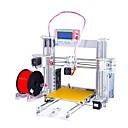 tanie Drukarki 3D-Sunhokey i3 jakości wysokiej precyzji reprap prusa i3 diy zestaw drukarki 3D z 2 rolek żarnika 8 gb karty SD i lcd za darmo