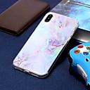 preiswerte Ski, Snowboard Bekleidung-Hülle Für Apple iPhone XR / iPhone XS Max Beschichtung / Muster Rückseite Marmor Weich TPU für iPhone XS / iPhone XR / iPhone XS Max