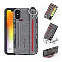 hesapli iPhone Kılıfları-Pouzdro Uyumluluk Apple iPhone XS / iPhone XR / iPhone XS Max Cüzdan / Kart Tutucu / Şoka Dayanıklı Arka Kapak Solid Sert PU Deri