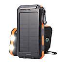 baratos Baterias Externas-TS-886 Banco de poder LED Impermeável, Portátil Campismo / Escursão / Espeleologismo, Caça, Pesca Black / Orange