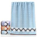 cheap Bath Towel Set-Superior Quality Bath Towel, Solid Colored 100% Cotton / 100% Polyester Bathroom 1 pcs