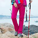 tanie Turystyczne spodnie i szorty-Damskie Jednokolorowe Spodnie turystyczne Na wolnym powietrzu Wodoodporny Odporność na wiatr Polarowa podszewka Ciepłe Wiosna, jesień, zima, lato Bawełna Spodnie Piesze wycieczki Wspinaczka Kemping