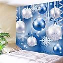 ieftine Wall tapiserii-Crăciun / Familie Wall Decor 100% Poliester Modern Wall Art, Tapiserii de perete Decor