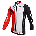 cheap LED Corn Lights-XINTOWN Men's Long Sleeve Cycling Jersey - White Bike Jersey, Breathable, Quick Dry, Ultraviolet Resistant, Winter Fashion / Stretchy