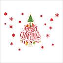 billige Kjøkkenrengjøringsmidler-Dekorative Mur Klistermærker - Holiday Wall Stickers Jul / Højtid Innendørs / Utendørs
