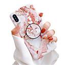 halpa iPhone kotelot-Etui Käyttötarkoitus Apple iPhone XS / iPhone XR / iPhone XS Max Tuella / IMD / Himmeä Takakuori Marble Pehmeä TPU
