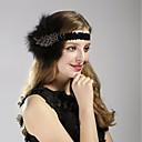 ราคาถูก เสื้อผ้าประวัติศาสตร์และวินเทจ-สำหรับผู้หญิง Kentucky Derby ใบร้อน เรซิน ผ้า โลหะผสม ลายเลื่อม,วินเทจ 1920s Gatsby-Cubic Zirconia / ทุกฤดู