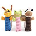 abordables Disfraces de Navidad para mascotas-Juguete Mordedor Animales Tejido de Algodón Para Perros / Gatos