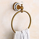 cheap Towel Bars-Towel Bar New Design / Cool Antique Brass 1pc towel ring Wall Mounted