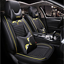 cheap Motorcycle Jackets-ODEER Car Seat Covers Headrests / Waist Cushions / Seat Covers Yellow Acetate Common For universal All years All Models