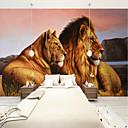 abordables Murales-papel pintado / Mural Lona Revestimiento de pared - adhesiva requerida Art Decó / Azulejo / 3D