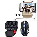 olcso Egérpad-Vezetékes Egér billentyűzet kombináció Menő USB által Gaming billentyűzet Gaming Mouse 1000 dpi 5 pcs