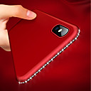 billige Telefonetuier & Skjermbeskyttere-Etui Til Apple iPhone XR / iPhone XS Max Ultratynn / Matt Bakdeksel Strass Myk TPU til iPhone XS / iPhone XR / iPhone XS Max
