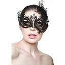 cheap Historical & Vintage Costumes-Princess Venetian Mask Masquerade Mask Adults' Women's Halloween Christmas Halloween Masquerade Festival / Holiday Metal Blue / Golden / Dark Green Carnival Costumes Grid / Plaid Metal Finish