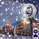 billige Flomlys-brelong christmas ledet utendørs snowflake projektor fjernkontroll 1 stk