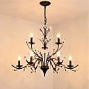 cheap Chandeliers-JLYLITE 9-Light Chandelier Ambient Light Painted Finishes Metal Mini Style 110-120V / 220-240V
