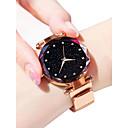 preiswerte Modische Uhren-Damen Armbanduhr Quartz Schwarz / Blau / Lila 30 m Wasserdicht Imitation Diamant Analog damas Glanz Modisch - Purpur Blau Rotgold
