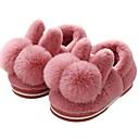 abordables Muñecas-Chica Zapatos Algodón Invierno Confort / Forro de piel Zapatillas y flip-flops Pompón para Niños Púrpula Claro / Rosa / Rosa claro