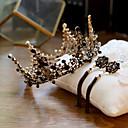 abordables Tocados de Fiesta-Cisne negro Mujer Vintage Elegante Pendients de aro Tiaras Para 1 Par de Pendientes Tiaras Joyería de disfraz