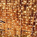 billige LED-lamper-3M Lysslynger 224 LED Varm hvit Dekorativ 220-240 V 1set