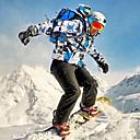 tanie Odzież narciarska i snowboardowa-Wild Snow Męskie Kurtka i spodnie narciarskie Odporność na wiatr, Wodoodporny, Ciepłe Narciarstwo / Sporty zimowe Zestawy odzieży Odzież narciarska / Oddychający / Oddychający
