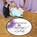povoljno Cvijeće za vjenčanje-Vjenčanje / Rođendan Naljepnice, etikete i oznake - 1 pcs Cirkularno Naljepnica za podij Sva doba