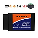 cheap Vehicle Cleaning Tools-ELM327 OBD2 WIFI V1.5 Car Diagnostic Tool