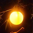 baratos Luzes do caminho-brelong solar ao ar livre à prova d 'água chama esférica lâmpada 1 pc
