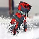 billige Stativer og holdere-Skihansker Vinterhansker Herre Hud Full Finger Vanntett Vindtett Anvendelig Holdbar Ski Trykbart Polyester Ski & Snowboard Vandring