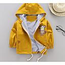 ieftine Îmbrăcăminte Bebeluși-Bebelus Fete Mată Manșon Lung Jachetă & Haină
