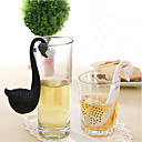 رخيصةأون القهوة و الشاي-بلاستيك المطبخ الإبداعية أداة بجعة 1PC مصفاة الشاي