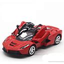 baratos Carros de brinquedo-MZ Carros de Brinquedo Modelo de Automóvel Carro de Corrida Carro Música e luz Unisexo Para Meninos Para Meninas Brinquedos Dom