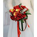 cheap Wedding Flowers-Wedding Flowers Bouquets Wedding / Wedding Party Dried Flower / Silk 11-20 cm