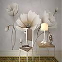 tanie Fresk-Tapeta / Mural Płótno Tapetowanie - klej wymagane Kwiaty / Art Deco / 3D