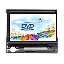economico Lettori DVD per auto-7 pollice 1 Din Windows CE In-Dash DVD Player GPS / Schermo touch / Bluetooth integrato per Universali Supporto / Pannello smontabile / Supporto per scheda SD e attacco USB / 800 x 480 / Tedesco