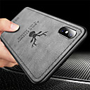 billige iPhone-etuier-Etui Til Apple iPhone XR / iPhone XS Max Ultratyndt / Præget Bagcover Dyr Blødt TPU for iPhone XS / iPhone XR / iPhone XS Max