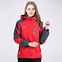 cheap Softshell, Fleece & Hiking Jackets-Deshengren® Women's Hiking Jacket / Ski Jacket Outdoor Winter Windproof, Waterproof, Thermal / Warm Fleece Jacket / Winter Jacket / Top Skiing, Camping / Hiking, Climbing Red Green Blue / Breathable