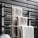 ieftine Bare de Prosop-Prosop Baie Multistrat Modern Oțel inoxidabil 1 buc - Baie / Hotel baie 3-bar prosop Montaj Perete