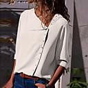 رخيصةأون صنادل نسائية-نسائي قميص نحيل قبعة القميص - أساسي لون سادة