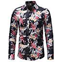 billige Sko til latindans-herreskjorte - floral skjorte krage